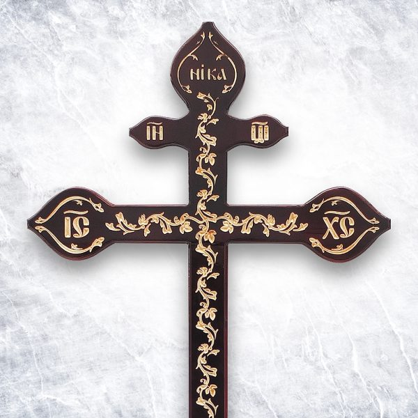 Крест «Русский православный — Узорный фигурный»