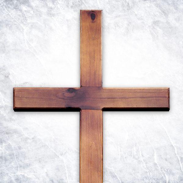 Крест «Сосновый католический»