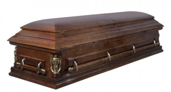 Гроб полированный «Виктория»