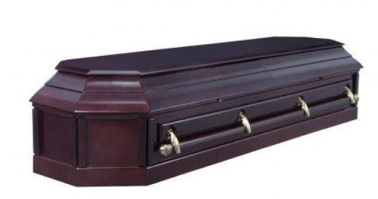 Гроб полированный
